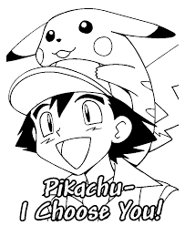 Ash And His Pokemon Coloring Pages Getcoloringpages Com Color Page