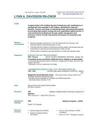 100 Best Resume Outline Resume by Good Resume Profile Examples
