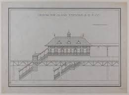 design competition boston island station design front elevation boston elevated railroad