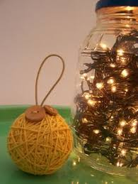 an adorable ornament made out of styrofoam and buttons it