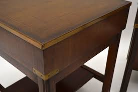 caign style side tables pair of antique caign style mahogany side tables marylebone