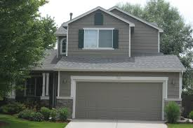 light gray house with dark trim best warm exterior paint color