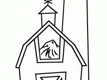 free barn coloring pages coloring shine