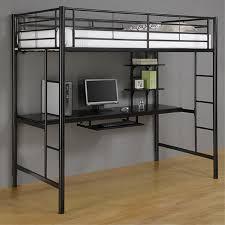 good loft bed desk med art home design posters