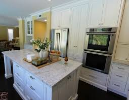 aliso viejo white transitional u shaped kitchen remodel with