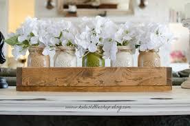 jar table decorations centros de mesa con jars y caja s de madera acompañados de