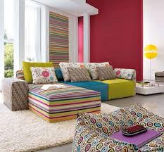 Modern Colorful Living Room Furniture Living Room Feel Comfortable With Colorful Living Room