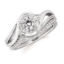 twisted halo engagement ring nummi jewelers twisted halo wedding band