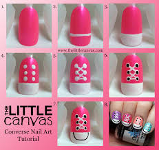 converse nail art take 2 tutorial the little canvas