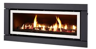 luminar 4000 inbuilt gas log fire gas fireplace pinterest