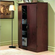 Tall Storage Cabinet With Doors And Shelves by Large Wooden Storage Cabinets With Doors Wood Storage Cabinets