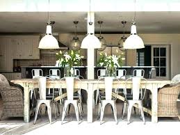 dining room tables with bench industrial style dining room table industrial style galvanized table