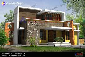 contemporary home design single floor contemporary indian home design in 1350 sqft by