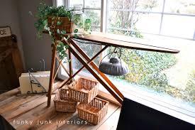Light Table Desk Pallet Farm Table Desk Part 3 The Reveal Funky Junk