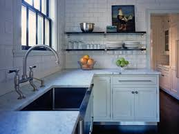 Kitchen Without Backsplash Marble Countertops Kitchen Without Upper Cabinets Lighting