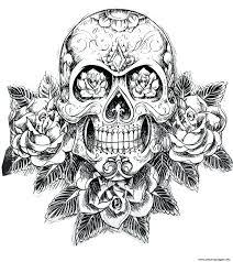 coloring pages sugar skull coloring book dead sugar