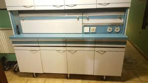 cuisine en formica meuble de cuisine formica bleu et blanc vintage les vieilles choses