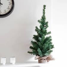 small fake christmas tree christmas lights decoration