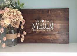 rustic wedding guest book rustic wedding guest book alternative family name design painted