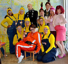 Minion Halloween Costume Adults 25 Group Costume Ideas Fun Halloween Diy