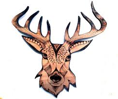 wooden stag wall hey i found this really awesome etsy listing at https www etsy