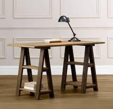 furniture antique sawhorse desk design for study room learn