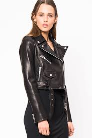 jacket moto primary essentials lookast cropped leather moto jacket