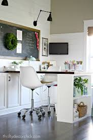 Best Decor Home Office And Craft Rooms Images On Pinterest - Home office room design