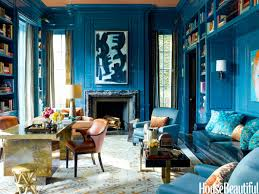 Blue Rooms by Now This Is How You Mix Old U0026 New House Beautiful Townhouse And