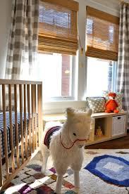 Gingham Nursery Curtains Otomi Gingham And Llama Drama Gender Neutral Nursery Project
