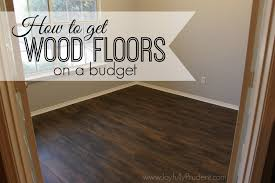 how to get wood floors on a budget vinyl wood joyfully prudent