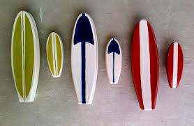 surfboard furniture handle and matching knob set