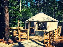 yurt camping at sweetwater creek state park fabulousindeed