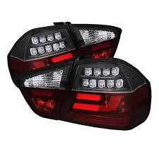 jeep grand cherokee led tail lights spyder black lightbar style led tail lights for 2006 2008 e46 bmw