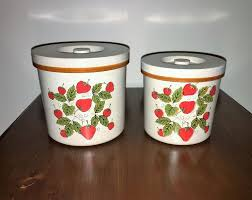 vintage canisters for kitchen 35 best vintage kitchen canisters images on kitchen