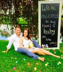 22 best easter themed pregnancy announcements photo props images