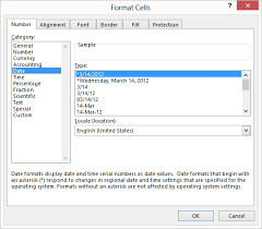 format date in excel 2007 setting a default date format microsoft excel