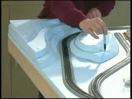 Free Train Set Table Plans by Build A Model Train Layout Model Railroad Scenery Part 1 How To