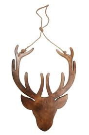 wooden stag wall large contemporary wooden hanging stag wall decoration