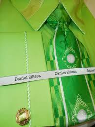 bright lime green fancy dress shirt u0026 tie daniel ellissa ds3744p2