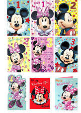 mickey mouse birthday cards and stationery for children ebay