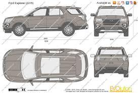 The Blueprints Com Vector Drawing Ford Explorer