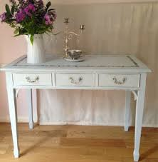 Shabby Chic Console Table Bowiebelle Vintage Upcycled Furniture Shabby Chic Console Table
