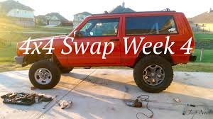 wk xk wheel tire picture 4x4 swap week four xj 4x4 conversion how to kind of youtube