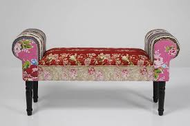 objects of design 274 vintage style patchwork bench mad about