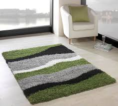 Modern Rugs Uk by Nordic Sombre Green Black Abstract Rug Buy Rugs Online In The Uk
