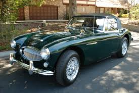 british racing green 1964 austin healey 3000 mk iii bj8 british racing green with black