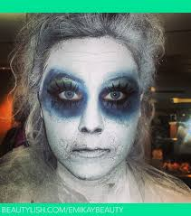 school for special effects makeup ghost special effects makeup using basic eyeshadow emily k s