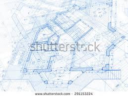 blueprint house plans architecture design blueprint house plans illustration stock
