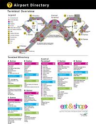 Mia Terminal Map Miami Airport Terminal Map Mapquest Maps Bnsf Railroad Map